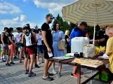Olympijský běh navštívil Příbram, na startu stanulo přes 60 běžců (35)