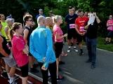 Olympijský běh navštívil Příbram, na startu stanulo přes 60 běžců (33)