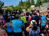 Olympijský běh navštívil Příbram, na startu stanulo přes 60 běžců (32)