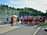 Olympijský běh navštívil Příbram, na startu stanulo přes 60 běžců (30)