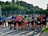 Olympijský běh navštívil Příbram, na startu stanulo přes 60 běžců (29)