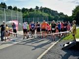 Olympijský běh navštívil Příbram, na startu stanulo přes 60 běžců (28)