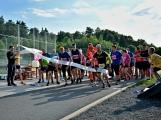 Olympijský běh navštívil Příbram, na startu stanulo přes 60 běžců (27)