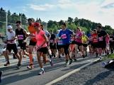 Olympijský běh navštívil Příbram, na startu stanulo přes 60 běžců (38)
