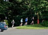 Olympijský běh navštívil Příbram, na startu stanulo přes 60 běžců (41)