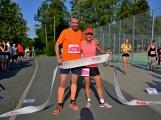 Olympijský běh navštívil Příbram, na startu stanulo přes 60 běžců (2)