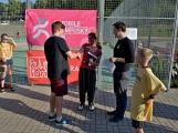 Olympijský běh navštívil Příbram, na startu stanulo přes 60 běžců (15)