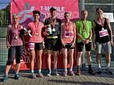 Olympijský běh navštívil Příbram, na startu stanulo přes 60 běžců ()