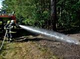 Požár okraje lesa mezi obcemi Nesvačily a Strýčkovy (4)