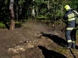 Požár okraje lesa mezi obcemi Nesvačily a Strýčkovy (18)