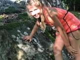 Chraštice už léta nemají skautský oddíl, přesto děti mají možnost nejen trávit tábor ve Skautském Hradišti, ale také se zde učit skautských hodnotám (2)