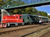 Nejednalo se o požár, ale Příbramí projel parní vlak (52)