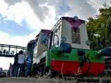 Nejednalo se o požár, ale Příbramí projel parní vlak (55)