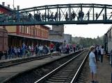 Nejednalo se o požár, ale Příbramí projel parní vlak (56)