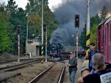 Nejednalo se o požár, ale Příbramí projel parní vlak (50)