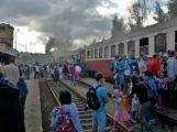 Nejednalo se o požár, ale Příbramí projel parní vlak (41)