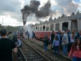 Nejednalo se o požár, ale Příbramí projel parní vlak (43)