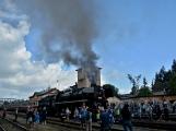 Nejednalo se o požár, ale Příbramí projel parní vlak (46)