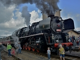 Nejednalo se o požár, ale Příbramí projel parní vlak (47)