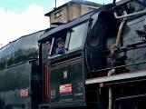 Nejednalo se o požár, ale Příbramí projel parní vlak (59)
