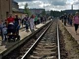 Nejednalo se o požár, ale Příbramí projel parní vlak (72)