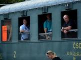 Nejednalo se o požár, ale Příbramí projel parní vlak (77)