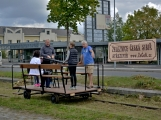 Nejednalo se o požár, ale Příbramí projel parní vlak (65)