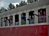 Nejednalo se o požár, ale Příbramí projel parní vlak (13)