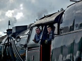 Nejednalo se o požár, ale Příbramí projel parní vlak (14)