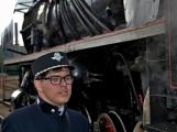 Nejednalo se o požár, ale Příbramí projel parní vlak (10)