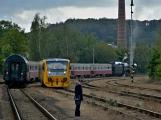 Nejednalo se o požár, ale Příbramí projel parní vlak (9)