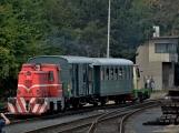 Nejednalo se o požár, ale Příbramí projel parní vlak (5)