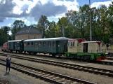 Nejednalo se o požár, ale Příbramí projel parní vlak (6)