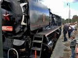 Nejednalo se o požár, ale Příbramí projel parní vlak (7)