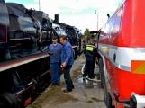 Nejednalo se o požár, ale Příbramí projel parní vlak (29)
