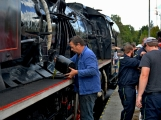 Nejednalo se o požár, ale Příbramí projel parní vlak (21)