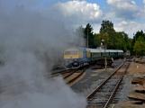 Nejednalo se o požár, ale Příbramí projel parní vlak (22)