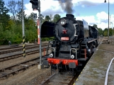 Nejednalo se o požár, ale Příbramí projel parní vlak (23)