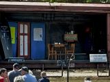 Nejednalo se o požár, ale Příbramí projel parní vlak ()