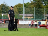 Hasiči vyprostili zraněnou ženu z vozu, policejní dron snímal okolí, služební pes zadržel zloděje unikajícího na jízdním kole (5)