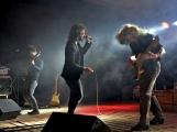 Březnické sobotní nebe rozzářil ohňostroj a světla Rockfestu (15)