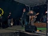 Březnické sobotní nebe rozzářil ohňostroj a světla Rockfestu (16)