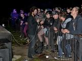 Březnické sobotní nebe rozzářil ohňostroj a světla Rockfestu (9)