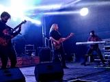 Březnické sobotní nebe rozzářil ohňostroj a světla Rockfestu (1)