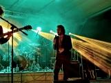 Březnické sobotní nebe rozzářil ohňostroj a světla Rockfestu (5)