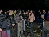 Březnické sobotní nebe rozzářil ohňostroj a světla Rockfestu (8)