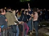 Březnické sobotní nebe rozzářil ohňostroj a světla Rockfestu (20)