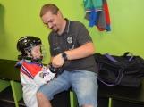 Další generace malých hokejistů vyzkoušela příbramský led ()