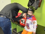 Další generace malých hokejistů vyzkoušela příbramský led (16)
