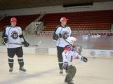 Další generace malých hokejistů vyzkoušela příbramský led (5)